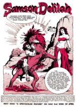 Samson and Delilah Comic