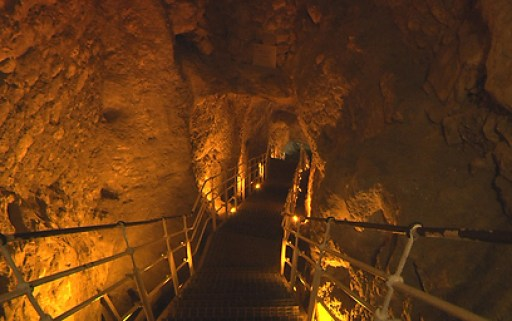 Image result for TUNNELS IN THE CITY OF DAVID