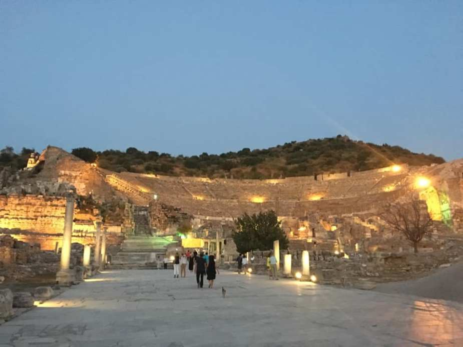 Grand Theater of Ephesus where Apostle Paul once preached