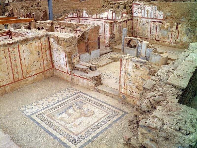 A Living Room at the Terrace Houses of Ephesus