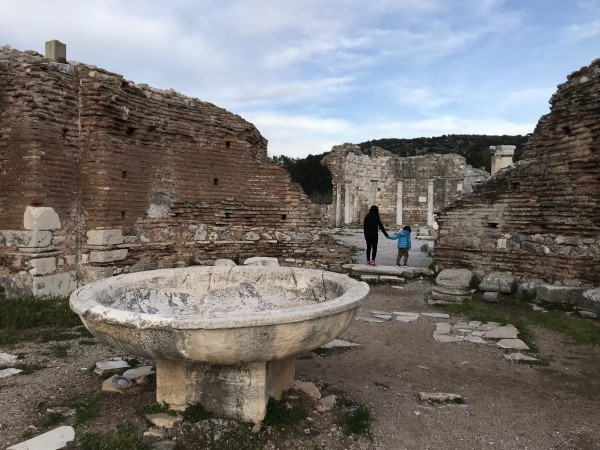 Baptismal Pool in the Double Church of Ephesus