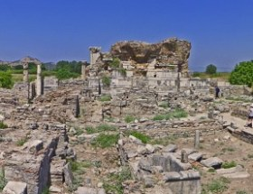 Double Church of Ephesus Where The Second Ephesus Council Was Organized