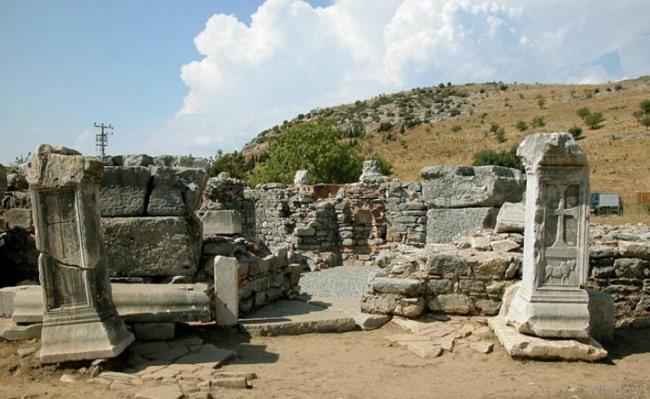 Tomb Of Saint Luke in Ephesus