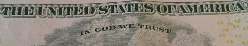 Tithing - In God We Trust