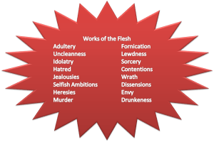 Works of the Flesh IV