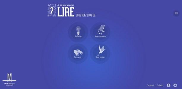 2013-10-02 12_35_11-Mediathèque de Lorient - Je ne sais pas quoi lire