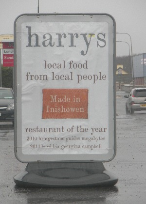 Harrys Restaurant, Bridgend, Inishowen, Co. Donegal