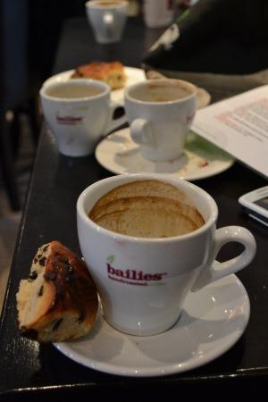 Bailies coffee and chocolate brioche from Thibault Peigne