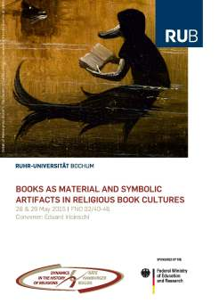 Books as Material and Symbolic Artifacts in Religious Book Cultures