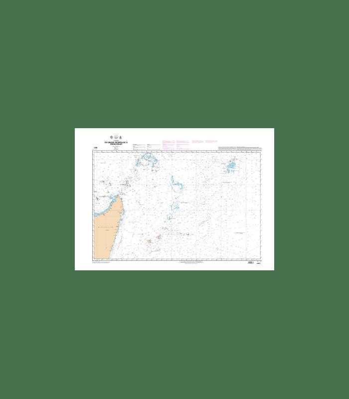 Carte Marine Shom 6673 De Chagos Archipelago