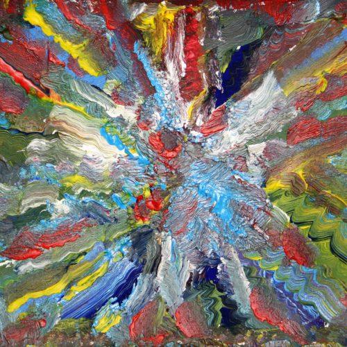 N.Scalvini, Arcobaleno Astrale - 2018 29x21 cm