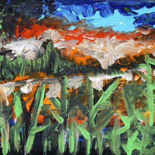 N.Scalvini, Canneto sul lago - 2018 29x21 cm