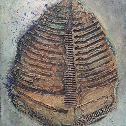 V.Gatti, Memoria di un pesce 1 - 2005 40x30 cm