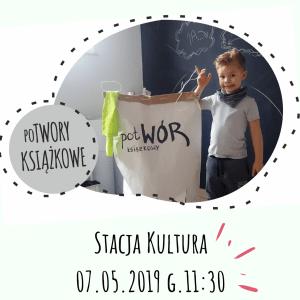 Potwory książkowe – warsztaty dla dzieci (6-10 lat)
