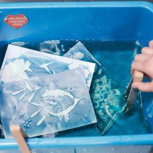 Niebiesko mi! Cyjanotypia – warsztaty fotograficzne (8+)
