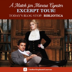 A Match for Marcus Cynster Excerpt Tour