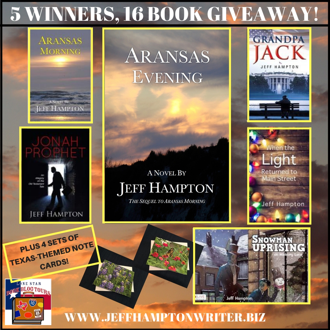Review: Aransas Evening, by Jeff Hampton – with Giveaway