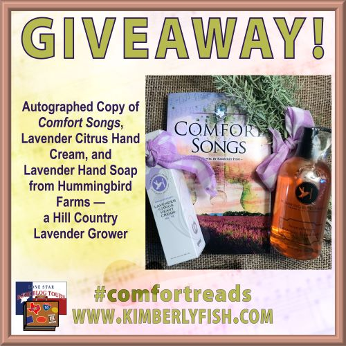 Review: Comfort Songs, by Kimberly Fish – with Giveaway