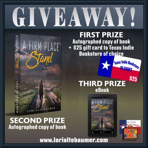 Review: A Firm Place to Stand, by Lori Altebaumer – with Giveaway