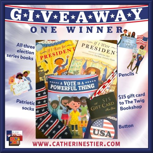 Spotlight: A Vote is a Powerful Thing, by Catherine Stier (illustrated by Courtney Dawson) – with Giveaway