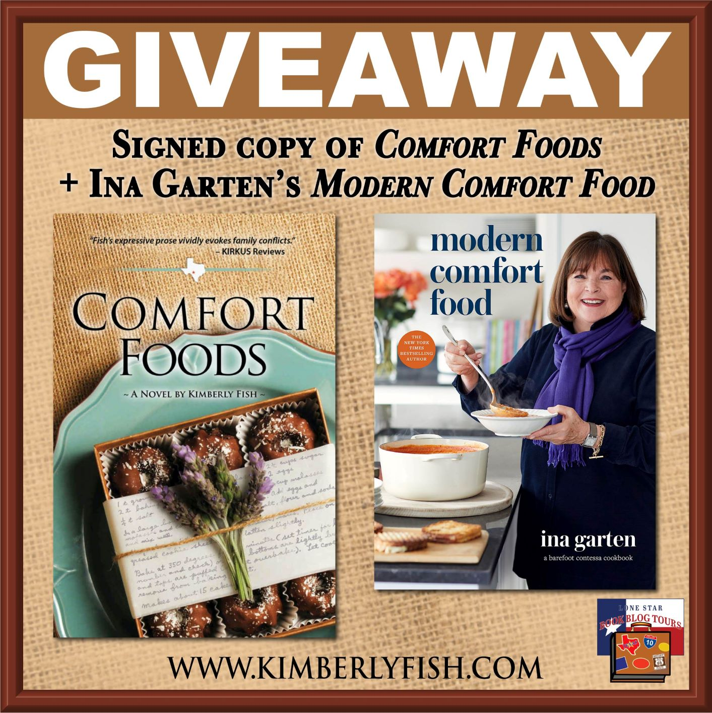 Review: Comfort Foods, by Kimberly Fish – with Giveaway