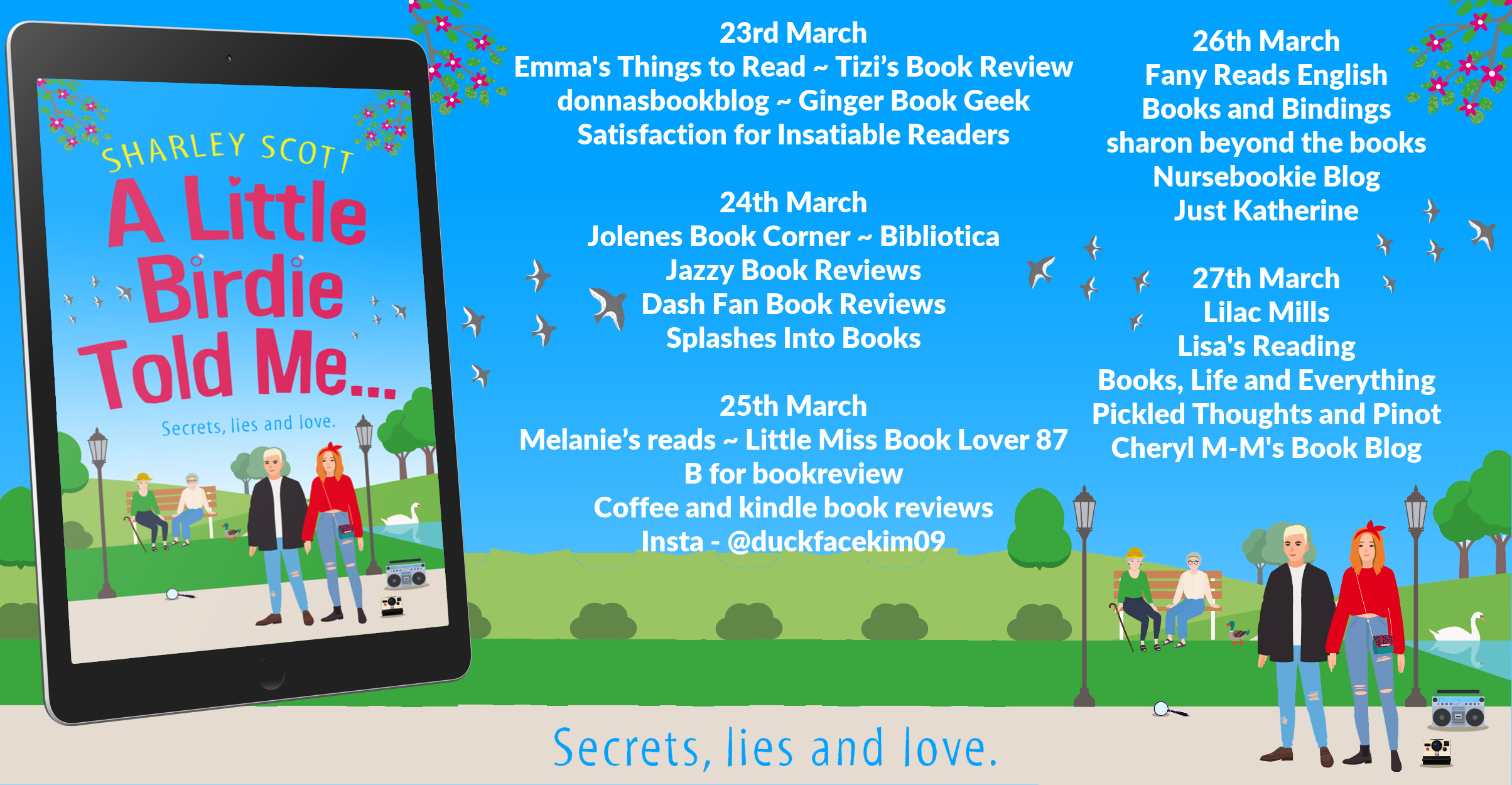 Review: A Little Birdie Told Me, by Sharley Scott