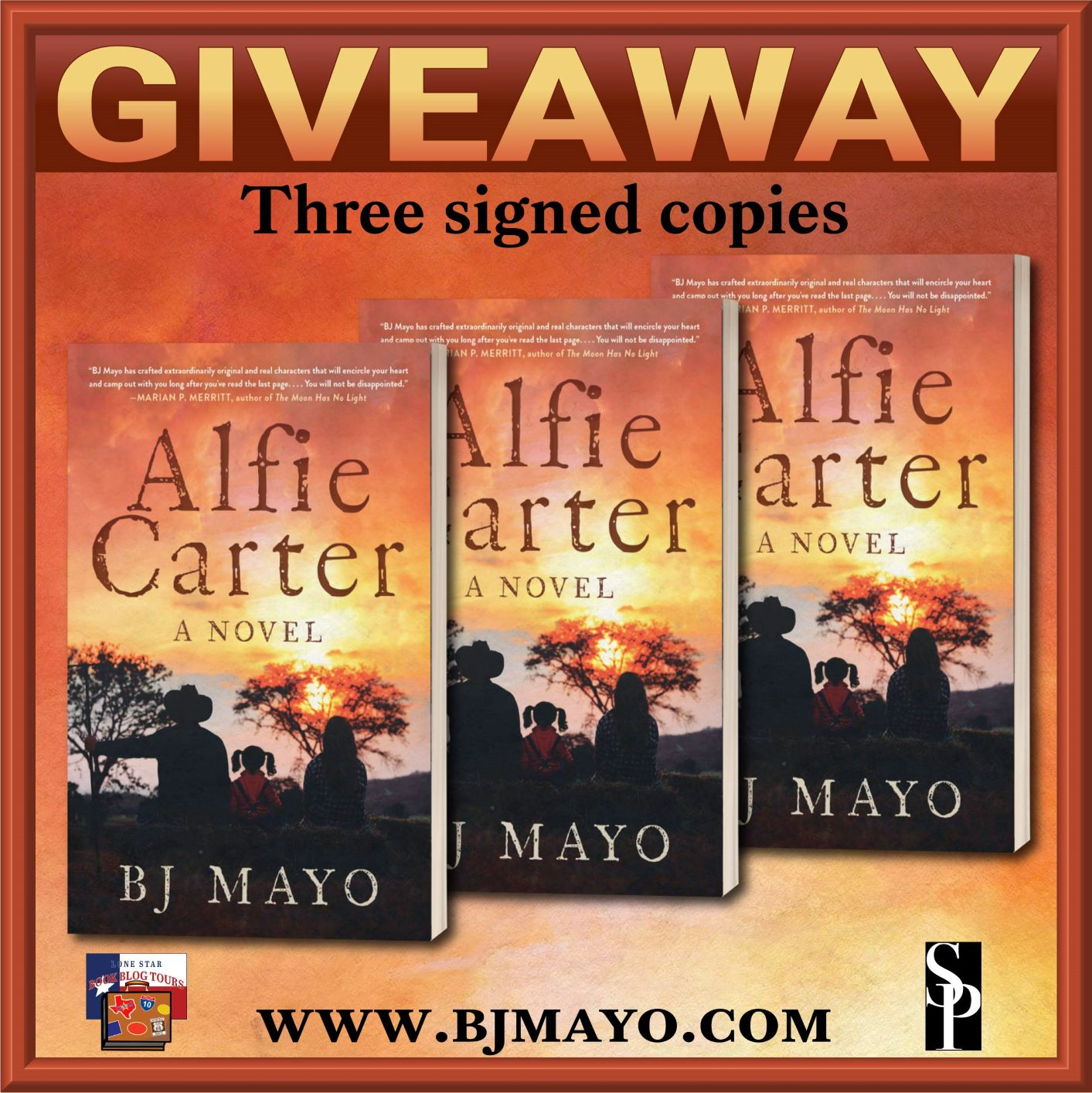 Review: Alfie Carter, by BJ Mayo  – with Giveaway