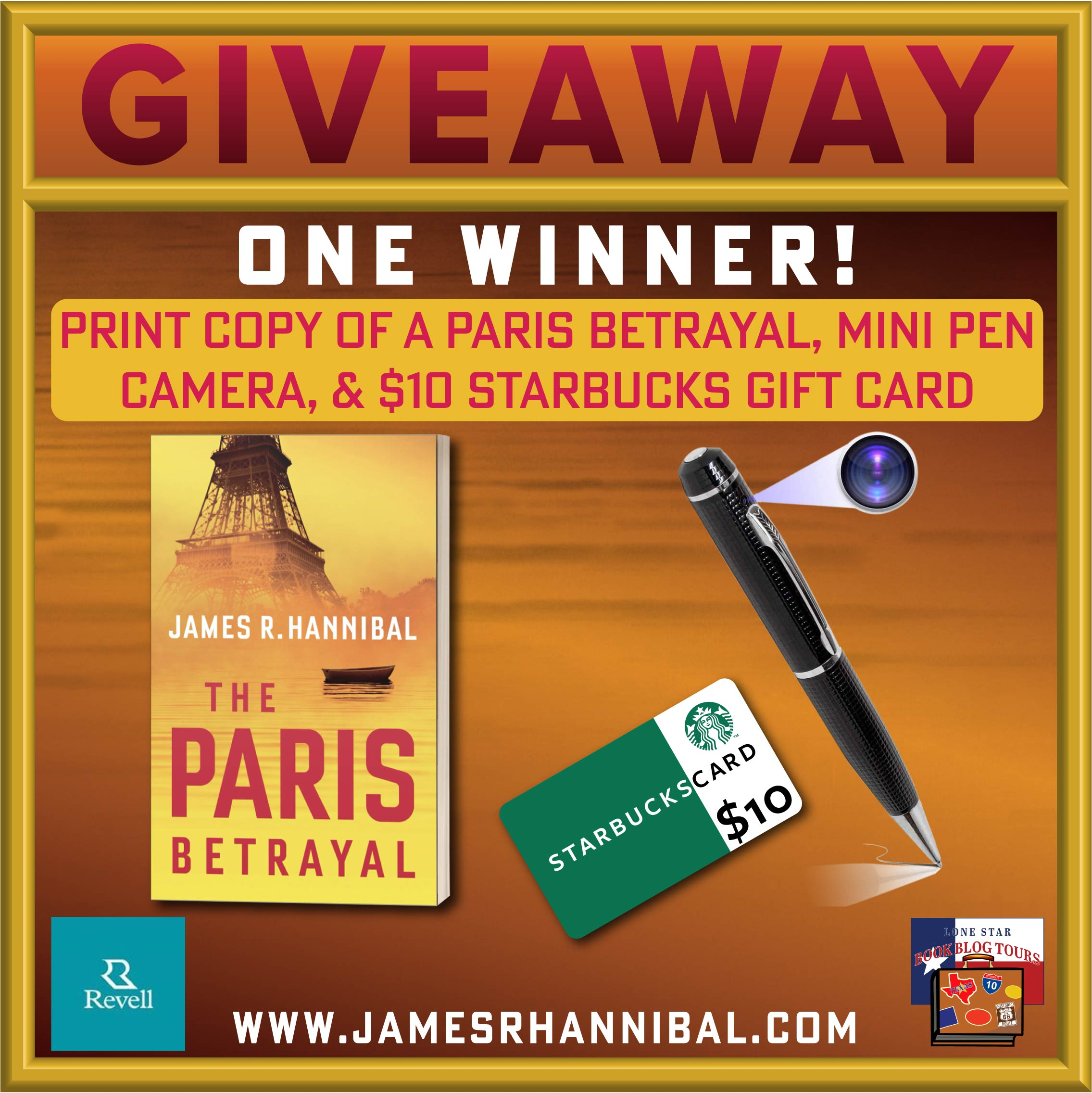 Review & Giveaway: The Paris Betrayal, by James R. Hannibal