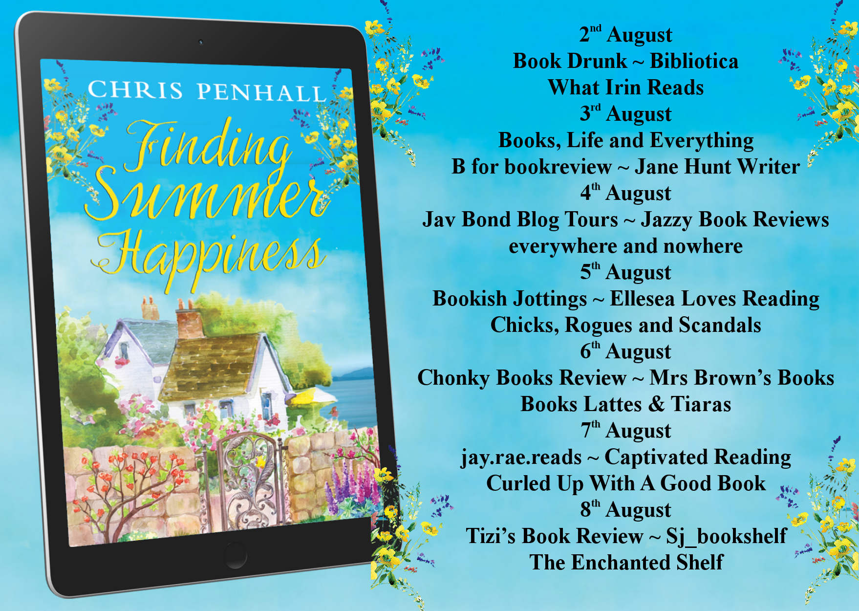 Review: Finding Summer Happiness, by Chris Penhall