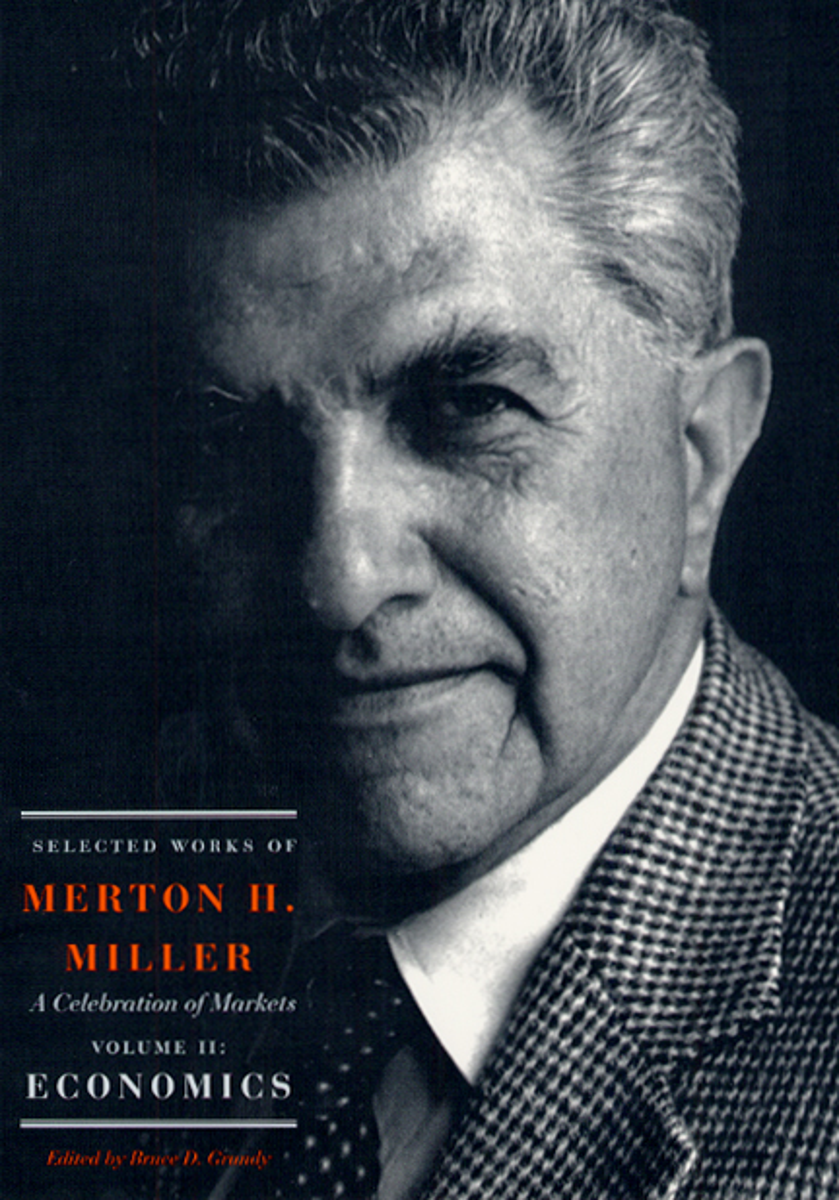 Image result for Economist Merton Miller