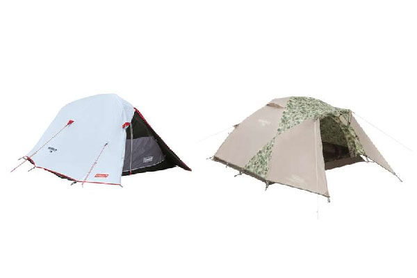Coleman, популярный производитель палаток для одиночного кемпинга