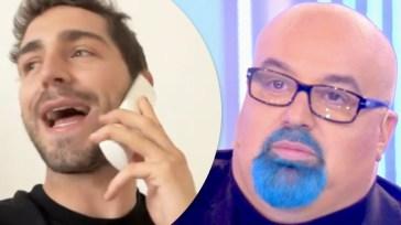Tommaso Zorzi prende in giro Giovanni Ciacci per il suo addio alla tv
