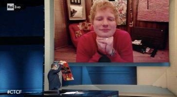 Ed Sheeran parla in italiano da Fabio Fazio