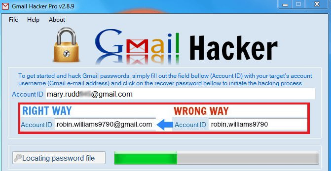 Gmail Password Hacking Software Free Download For Windows 7