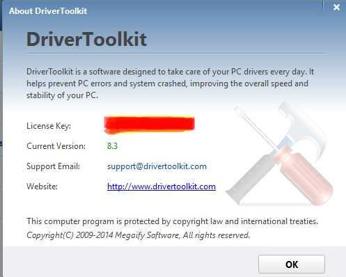 driver toolkit license key and email pic 9