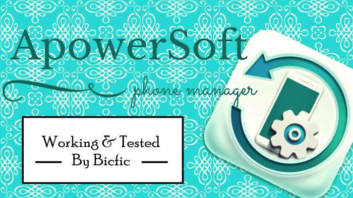 Apowersoft Phone Manager Keygen incl Full Version