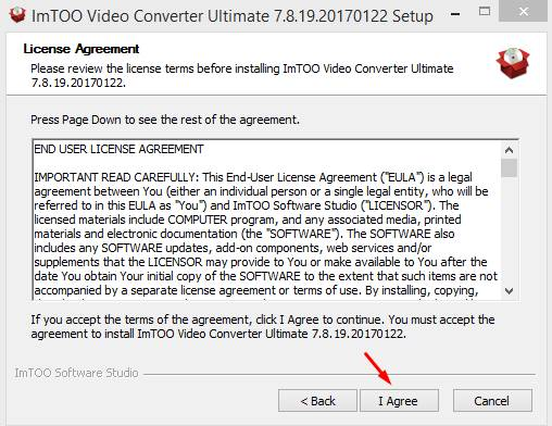 imtoo video converter ultimate serial number Pic 1