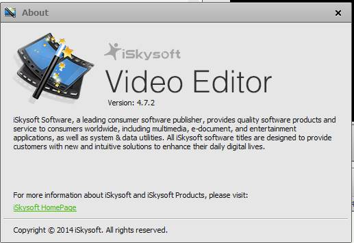 iskysoft video editor key Pic 4