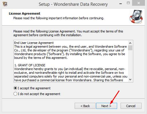 wondershare data recovery registration code Pic 2