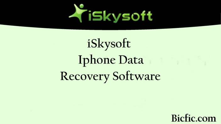 ISkysoft iPhone Data Recovery crack