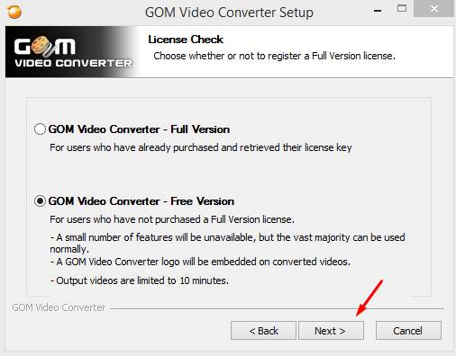 free download gom video converter