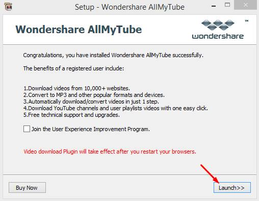 wondershare allmytube registration code pic 2