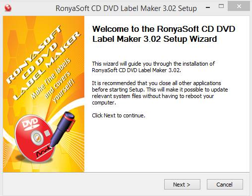 ronyasoft cd dvd label maker serial pic 1