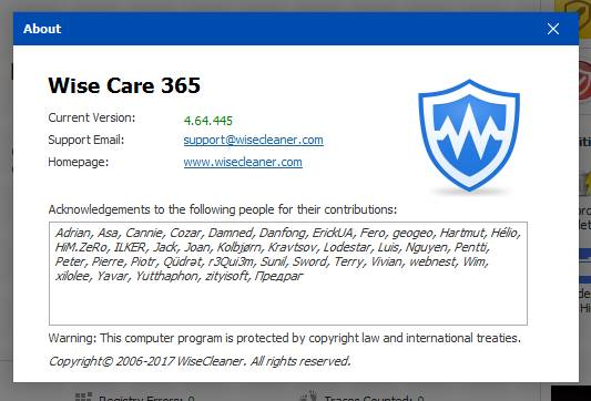 wise care 365 pro keygen Pic 5