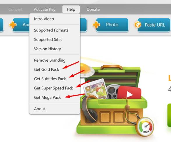 how to get freemake video converter gold pack for free