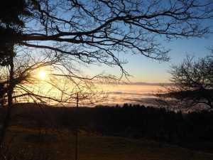 Vaud Suisse Mer de nuage