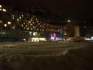 flaine by night