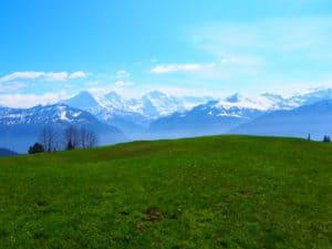 canton de berne suisse lac de thoune