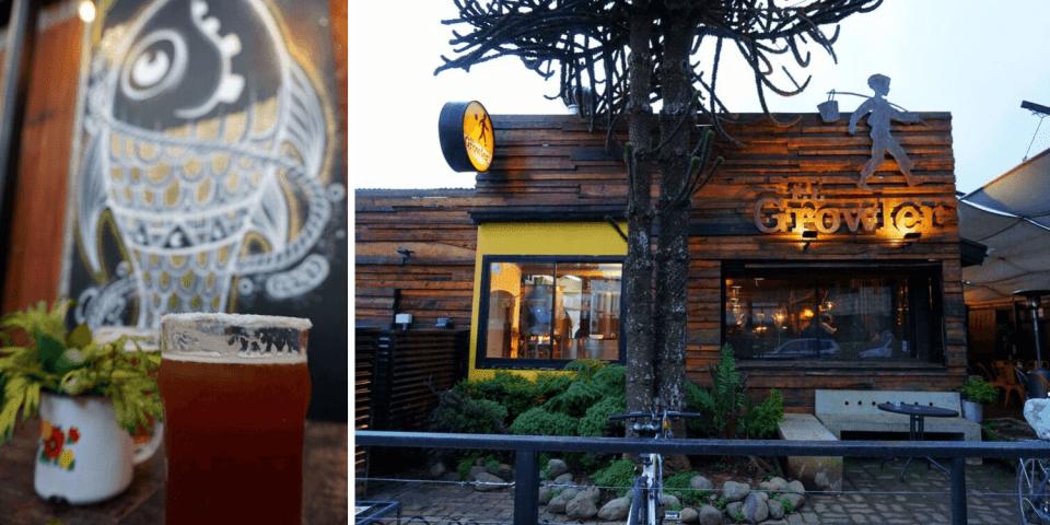 Cervecerías en Valdivia - El Growler