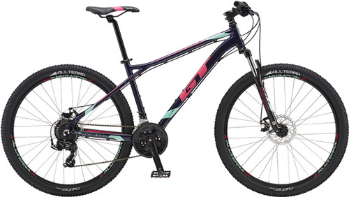 Bicicleta-GT-aggressor-dama-negro-rosa